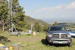 Colorado QRP Club Field Day Battleground Site west of Golden, Colorado - 06-25-2011