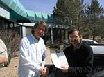 AC0BR accepts CQC membership 777 from Roger Wendell