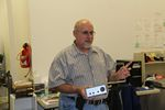 Jim Pope, KG0PP for his QRP xcvr and battery presentation to CQC on 11-10-2012