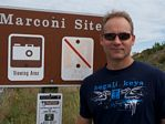 KT5E visits the Marconi site on Cape Cod - 2010
