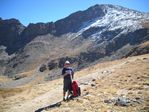 NX0L hikes to the top of 14er Mt. Bierdstadt - Fall 2010